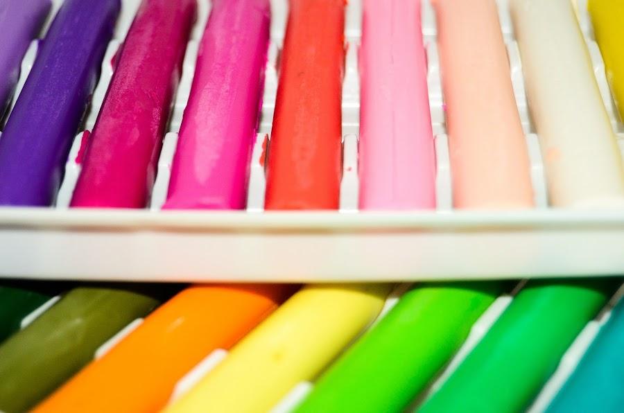 Plastecina de colores