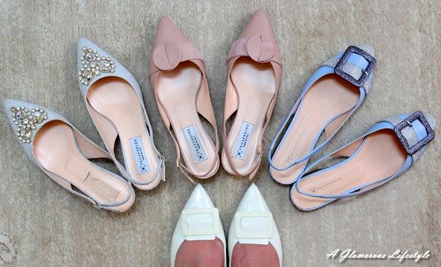 scarpe a punta Prosperine