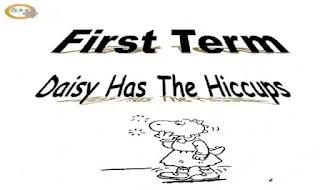 شيتات اسئلة واجابات بالترجمة على قصة Daisy has the hiccups