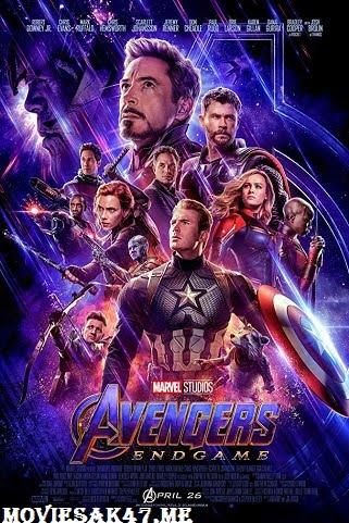 Avengers Endgame (2019) Full English Movie Download 480p 720p HD-CAMRip