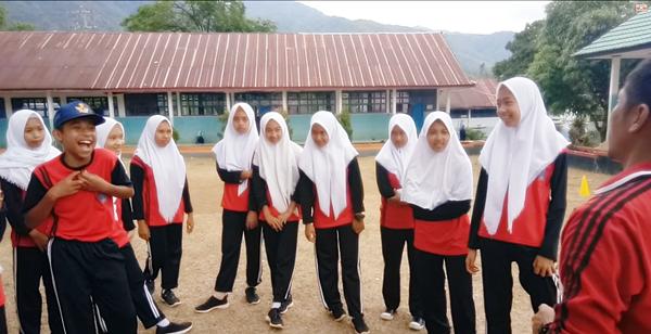 Supervisi Pembelajaran Permainan Bola Kecil PJOK Kelas IX