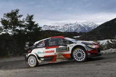 WRC Monaco S. Ogier