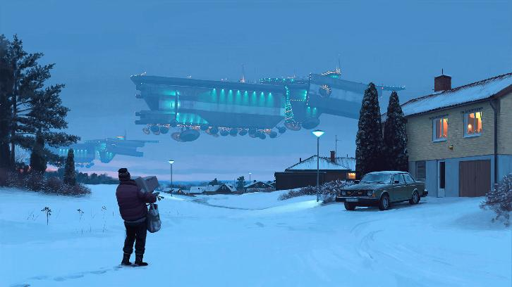 Tales From the Loop - Drama from Legion Producer Based on Simon Stålenhag's Artwork Ordered by Amazon