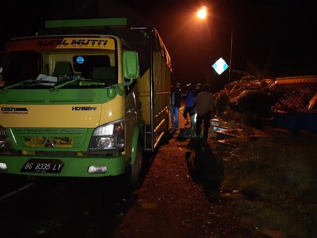 Warga Sumsel di Amankan Polres Tanggamus dan Polhut Terkait Illegal Logging