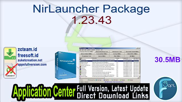 NirLauncher Package 1.23.43