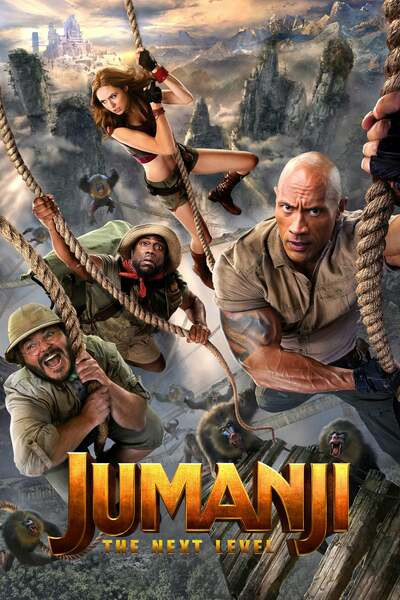 Jumanji: The Next Level (2019) English HDCam-Rip – 480P | 720P – x264 – 400MB | 900MB – Download
