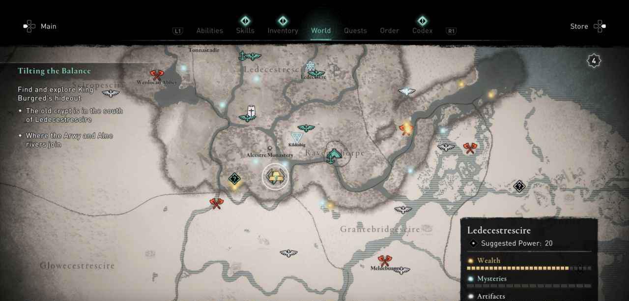 Ingot 25 Map 1