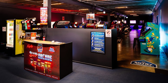 video games arcade brisbane australia