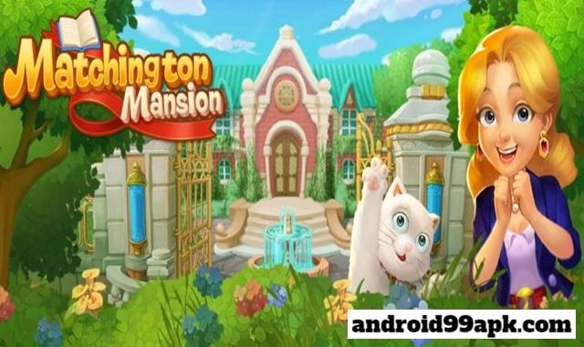 لعبة Matchington Mansion v1.54.0 مهكرة بحجم 128 MB للاندرويد