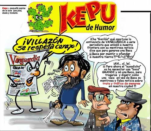 Kepu de humor - Villazón se respeta
