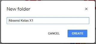 cara membuat absen dengan google form