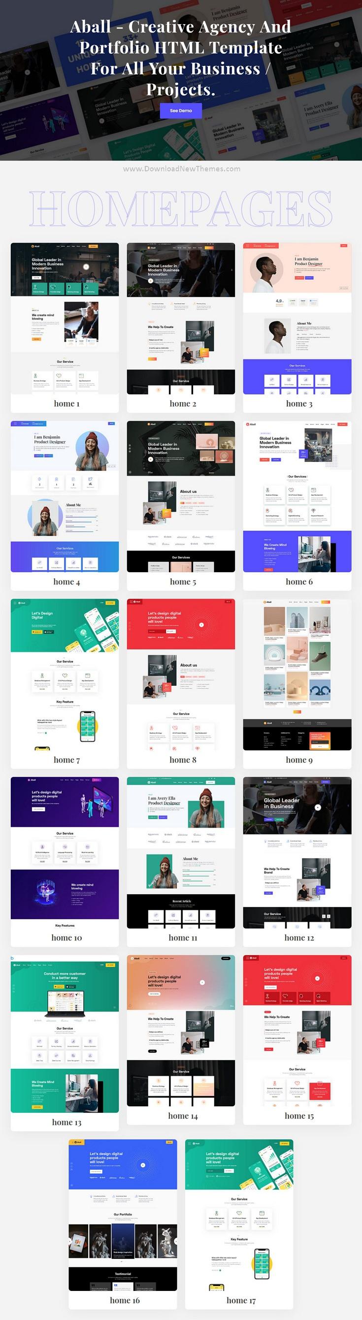 Agency and Portfolio Template