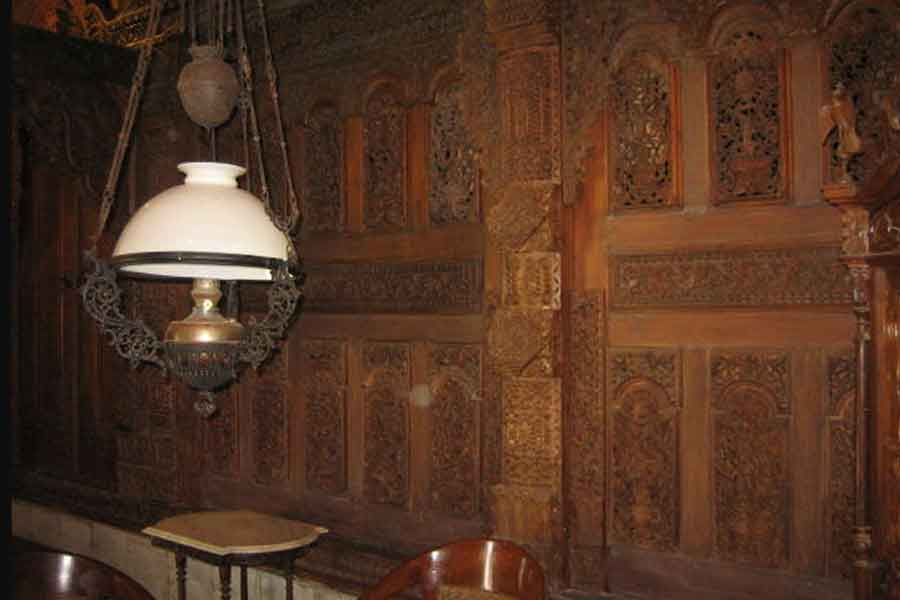 ornamen rumah gebyok jawa klasik kayu jati jepara