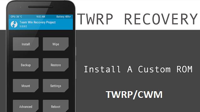 cara kalibrasi baterai android via twrp/cwm