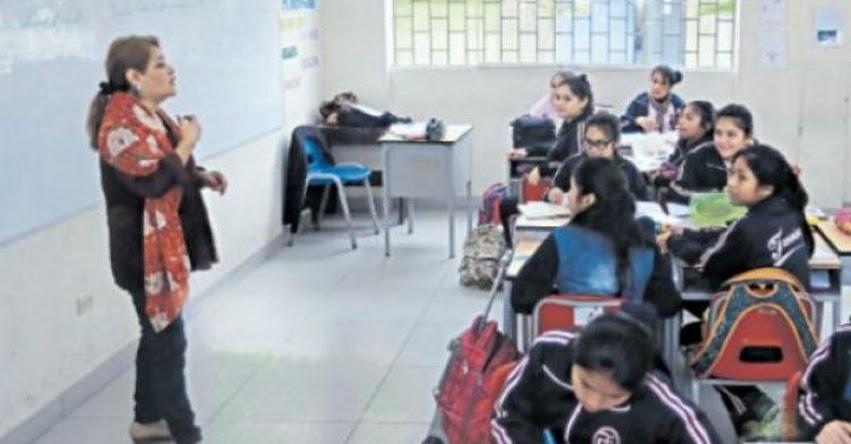 MINEDU: Aumento salarial a maestros será entre S/200 y S/420 en el 2019 - www.minedu.gob.pe