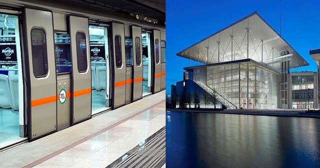 Ράγες για το Κέντρο Πολιτισμού Σταύρος Νιάρχος βάζει το μετρό