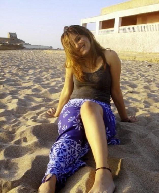 World Arabian Girls Photos: Nri Girls In South Africa Beach