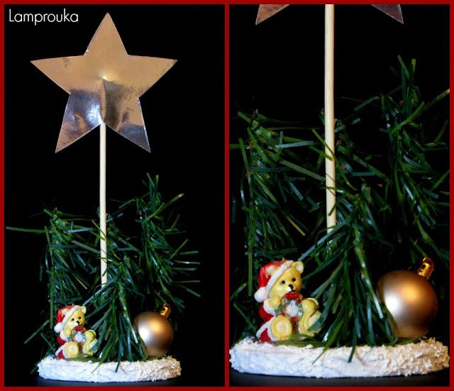 Στολίδια-κατασκυεές για χριστουγεννιάτικα bazaar με καπάκια.