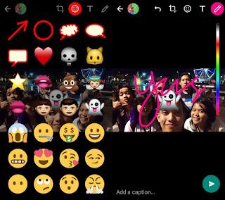 Cara Update Status di WhatsApp