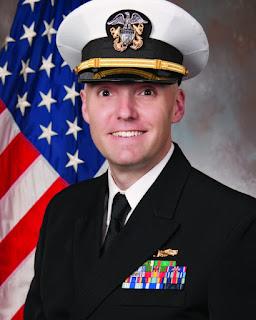 Portrait photo of Lt. Cmdr. N. Cody Schaal