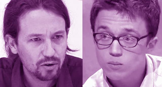 Pablo Iglesias e Íñigo Errejón se intercambian cartas