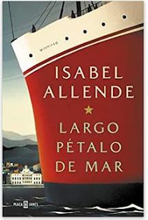 «Largo pétalo de mar» de Isabel Allende
