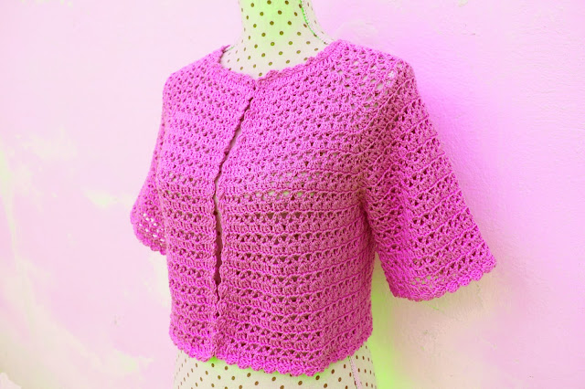 5 -  Crochet Bolero para mujer a crochet y ganchillo Majovel Crochet facil sencillo bareta paso a paso DIY puntada punto alto punto bajo