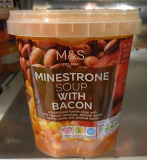 M&S Minestrone Soup with Bacon