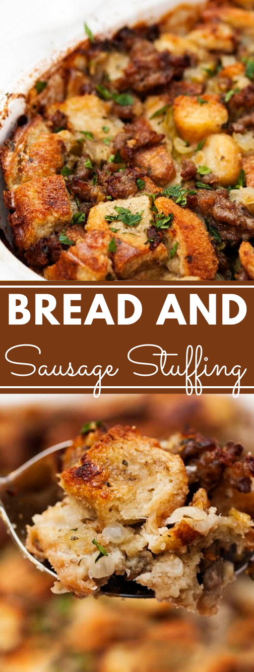 My Favorite Sausage Bread Stuffing #dinner #sausage #recipes #noodles #shrimp