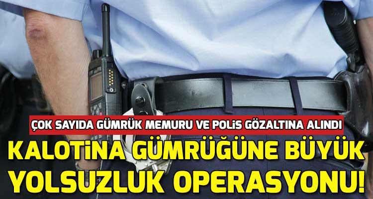 Bulgaristan Kalotina Sınır Kapısında Rüşvet Yolsuzluk Operasyonu!