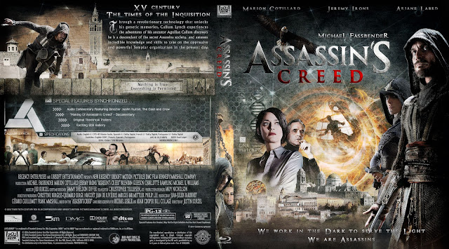 Capa Bluray Assassins Creed