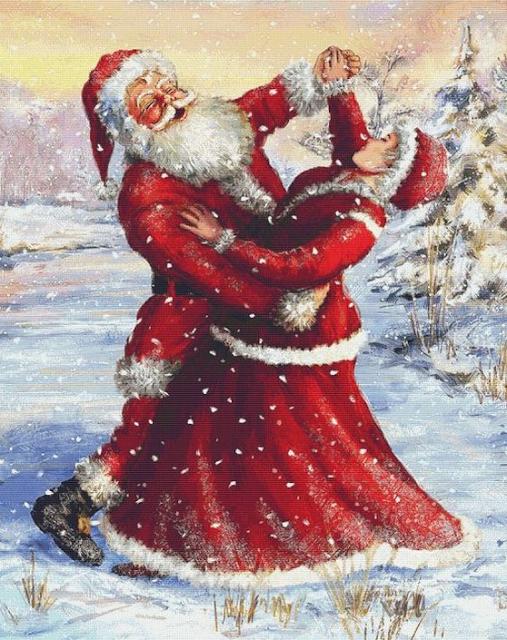 Santa Dancing Merry Christmas Images