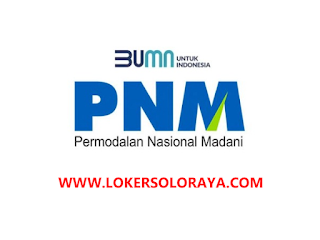 Lowongan Kerja Masaran Keuangan dan Administrasi Mikro di PNM Cabang Solo