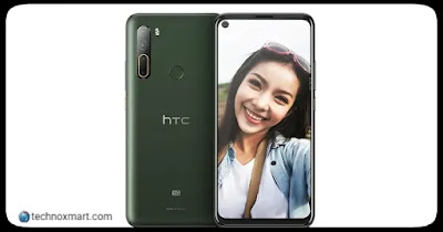 HTC Desire 20 Pro, HTC U20 5G Launched With Quad Rear Cameras, Hole-Punch Display: Check Price, Specifications Here