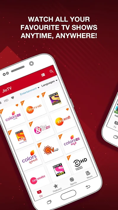 JioTv Mod Apk For Mobile & TV Users Live TV, News, Movies, Entertainment App