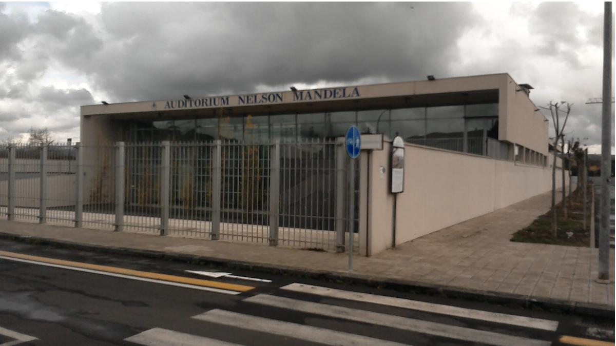 Mistebrianco centro vaccinale auditorium