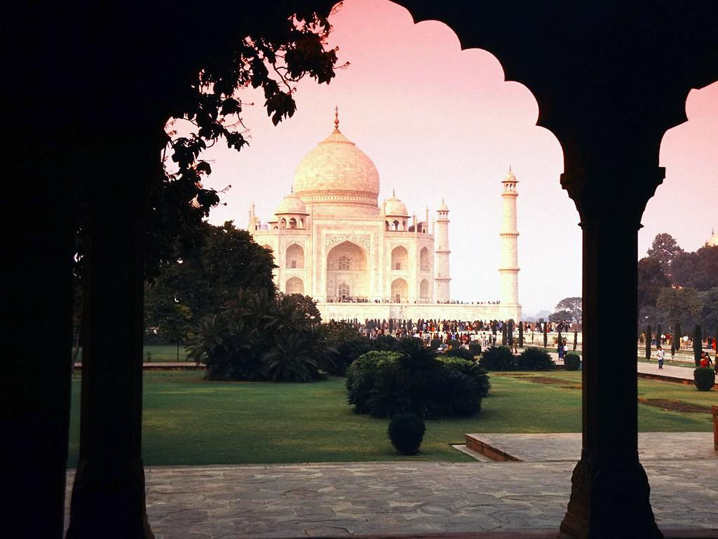 India 7Wonder Of The World Taj Mahal Full Hd Wallpapers -9133