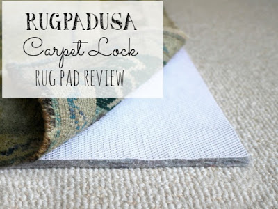 Review of the Carpet Lock rug pad from rugpadUSA