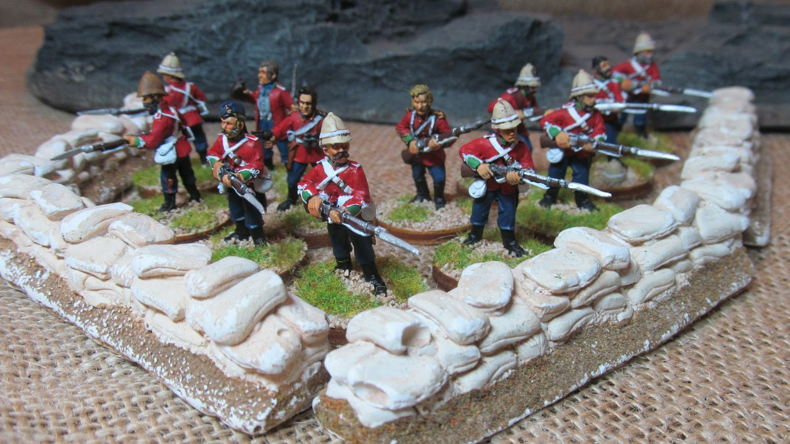 Toy Soldiers And Dining Room Battles: Men Of Harlech
