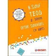 Eksen 8.Sınıf TEOG 2.Dönem 7 Deneme Sınavı (2016)