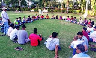 इंदौर मे होने वाली फेसबुक महापंचायत की तैयारी को लेकर जयस की बैठक हुई सम्पन्न