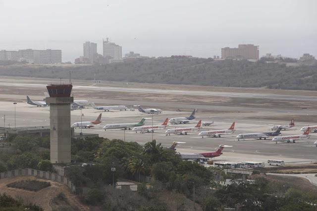 Sólo seis aerolíneas de la IATA siguen operando en Venezuela