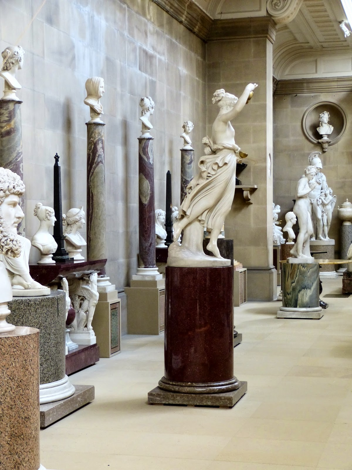 The Sculpture Gallery, Chatsworth