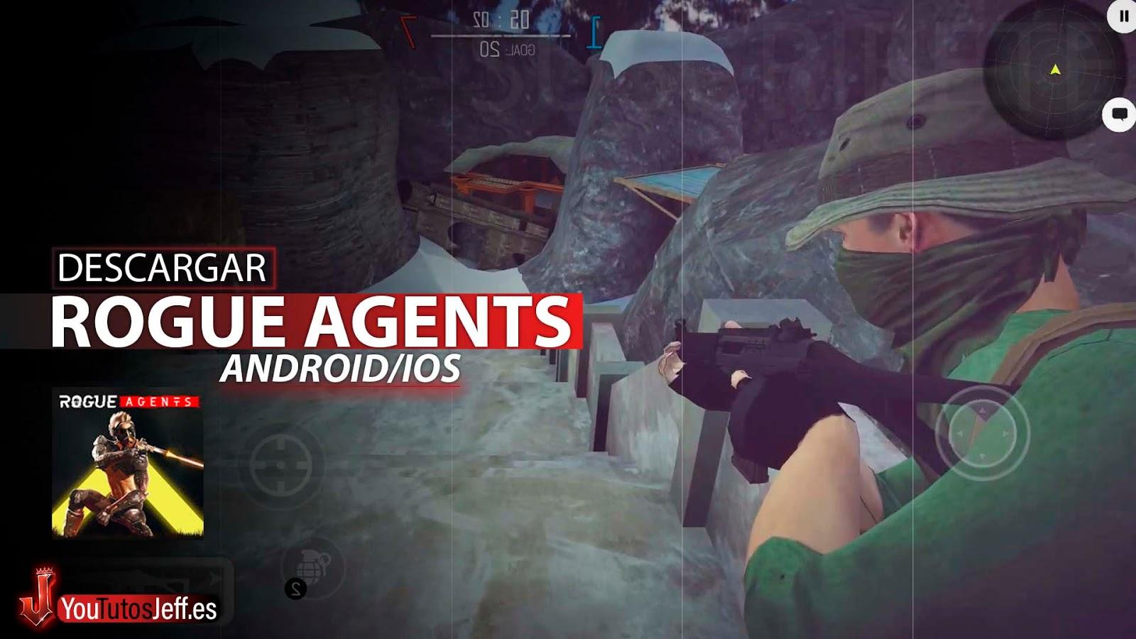 Shooter con Parkour, Descargar Rogue Agents Android o iOS