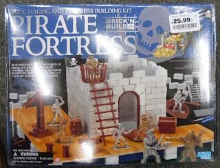 4M Pirate Fortress; Brick N'Build; Build Your Own; International Talk Like A Pirate Day; ITLAPD; Pirate Figures; Pirate Fortress; Red-Box Pirates; Redbox; RedBox Pirates; Small Scale World; smallscaleworld.blogspot.com; Talk Like A Pirate; TK Maxx; TKMaxx; Toy Smith Pirates;