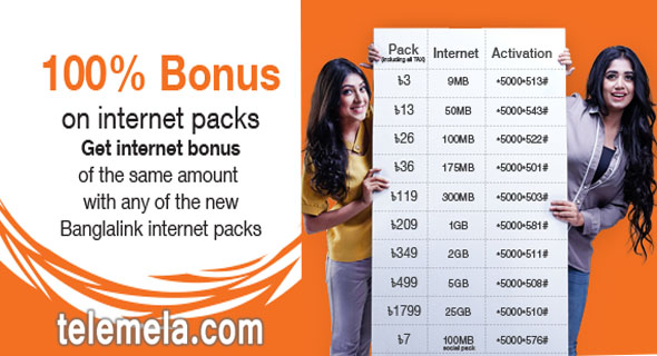 banglalink internet bonus offer