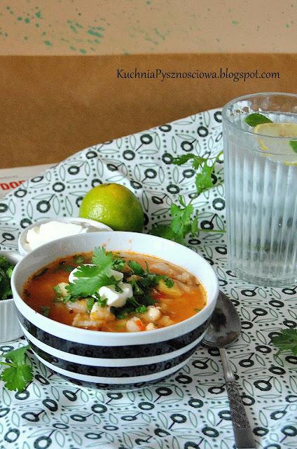 427. Meksykańska zupa rybna
