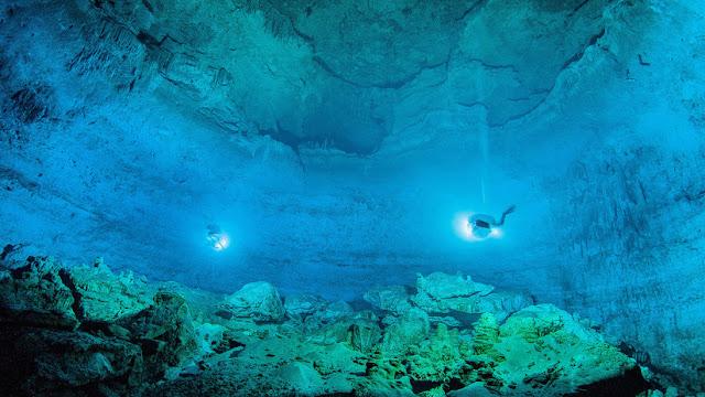 Animales prehistóricos y esqueletos humanos: Describen los hallazgos en el cenote Hoyo Negro en México