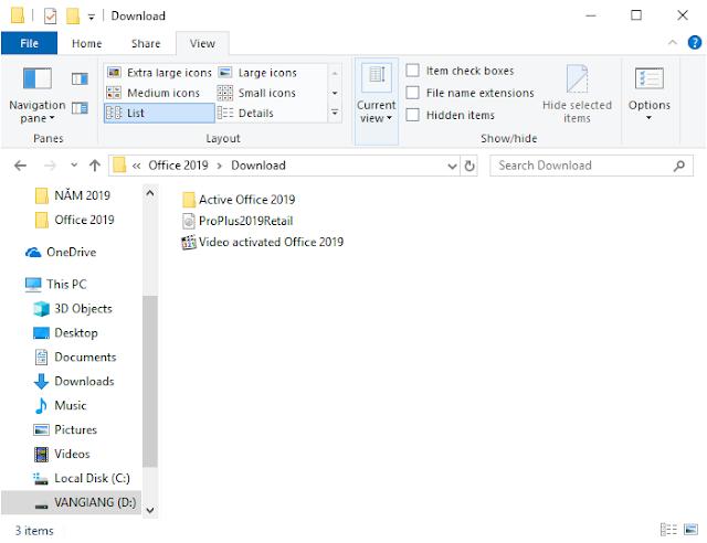 Office 2019 64bit [full license]