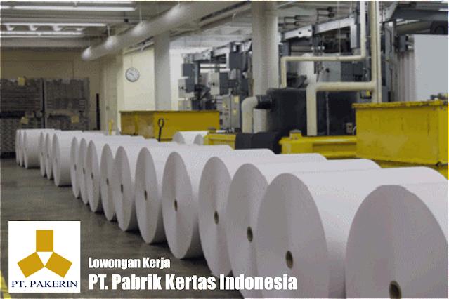 Lowongan Kerja PT Pabrik Kertas Indonesia (Kayu / Fiber / Kertas)